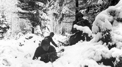 Американские солдаты 75 й пехотной